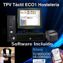 TPV TACTIL ECO 1 HOSTELERIA