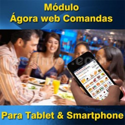 Modulo Agora web Comandas