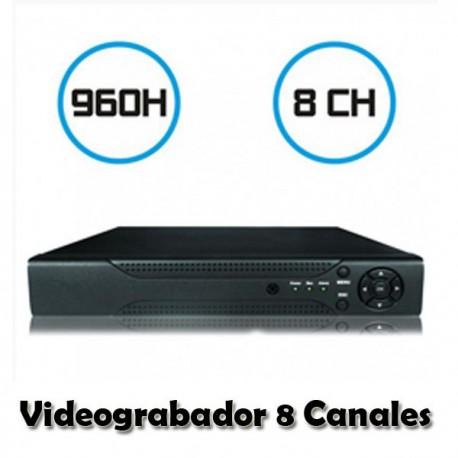 DVR VIDEOGRABADOR DE CAMARAS 08 CANALES